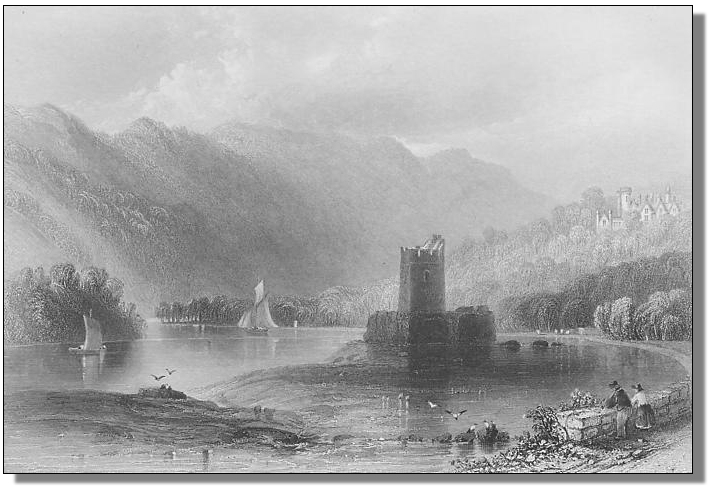 Narrow Water castle in the 18th century
